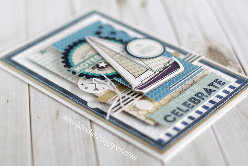 Yacht Club - Carta Bella, card