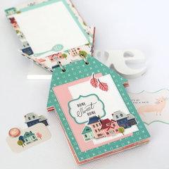 """HOME"" mini book"
