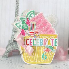 Cupcake mini book