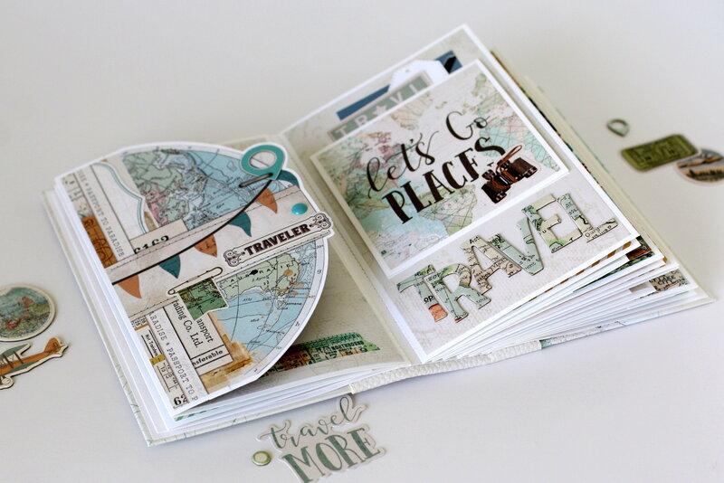 Travel mini book