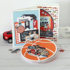 Cards and a Mini Book