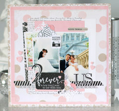 """Wedding Bliss"" layout"