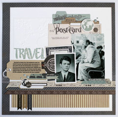 """Carta Bella"" Travel Layout"