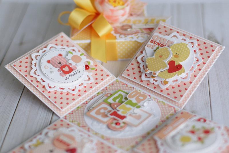 "Carta Bella ""It's a Girl"" Gift Box"