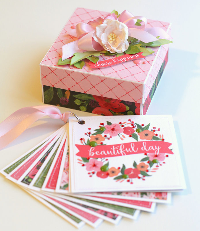 Carta Bella - Mini album in a box