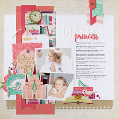 Princess Diaries layout