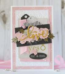 Love - wedding card