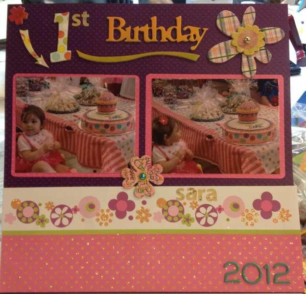 1st Birthday 2012