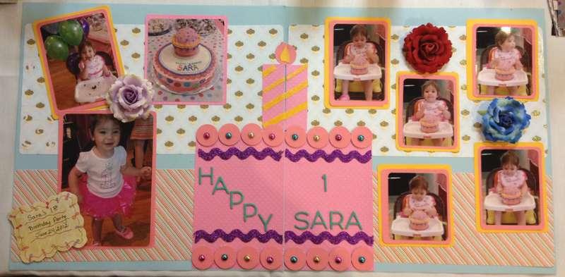 Happy 1st Birthday Sara