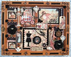 """G45 Ladies Diary Altered Frame """