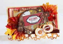 Autumn splendor (Thanksgiving Day) card