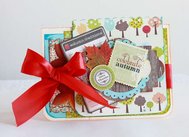 Celebrate Autumn card