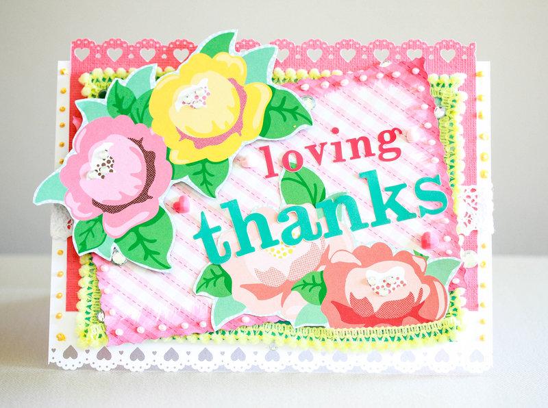 Loving Thanks card