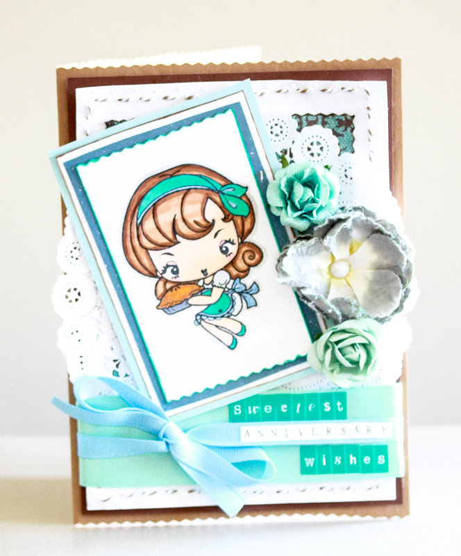 Sweetest Anniversary Wishes card