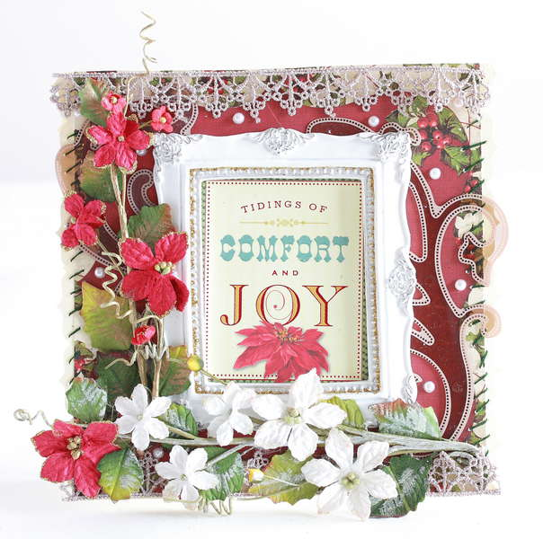 Tidings of comfort and joy Christmas card