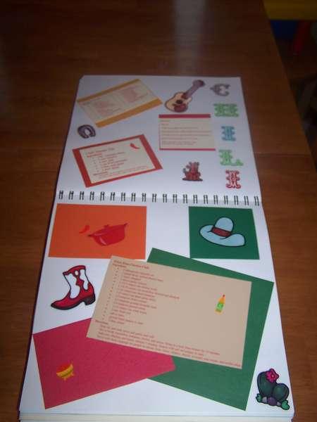chili cookbook page