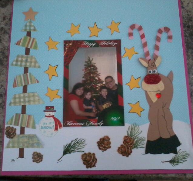 Happy Holidays Burrows Family 2012