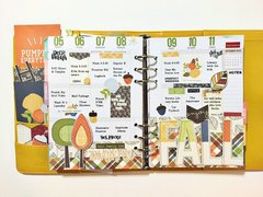 Planner Pages with Hello Fall