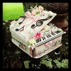 Piano made from Chipboard