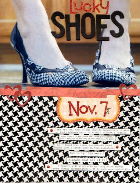 Lucky shoes **KI Memories**