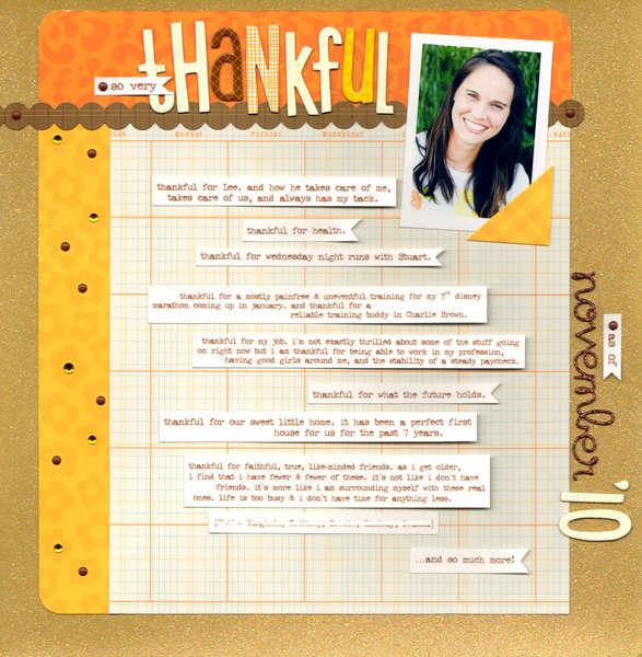 Thankful **KI Memories**