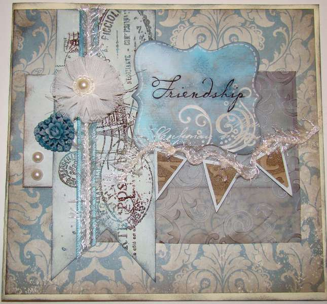 Gingersnap Card Challenge - Friendship