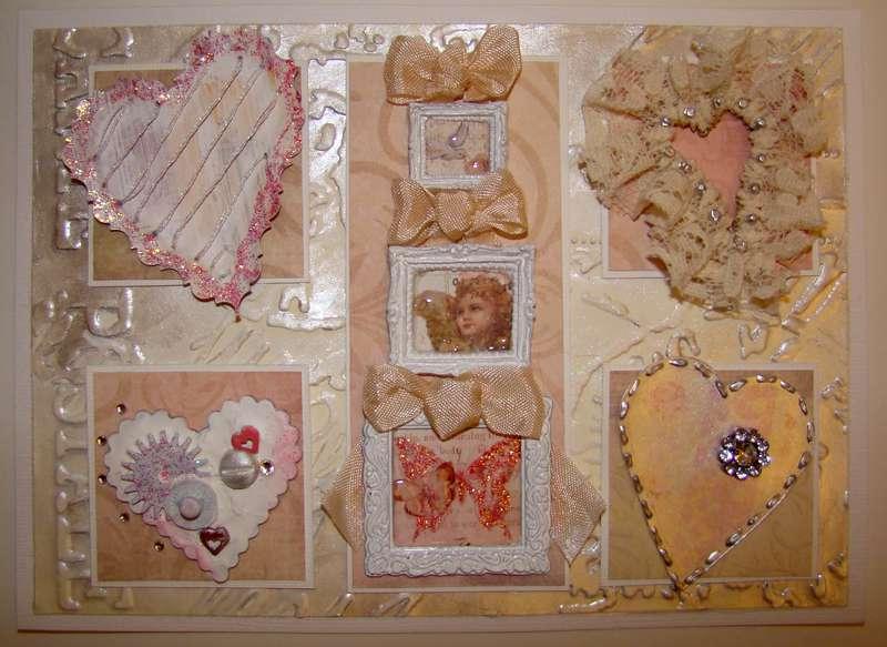 Vintage Cafe Card Valentine