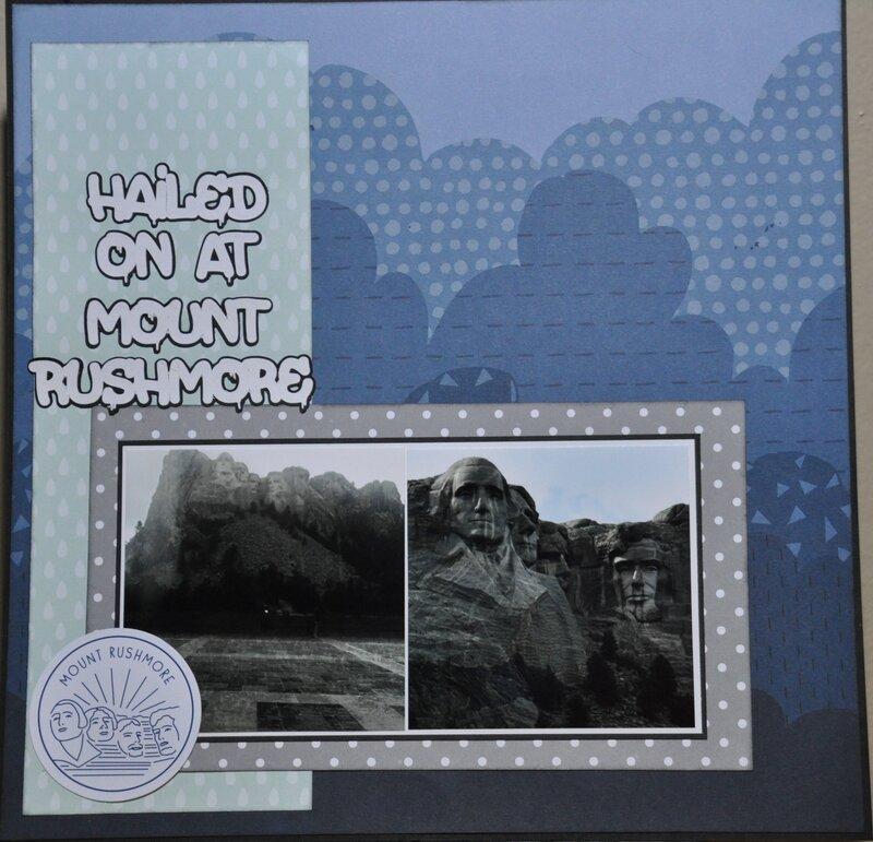 Hailed on at Rushmore