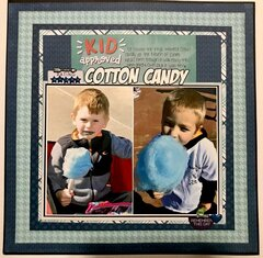 Kid Approved Cotton Candy