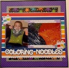 Coloring Noodles