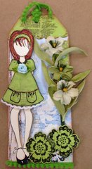 Julie Nutting Doll Tag