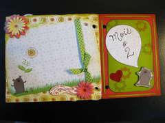 Pregnancy mini album for my sister