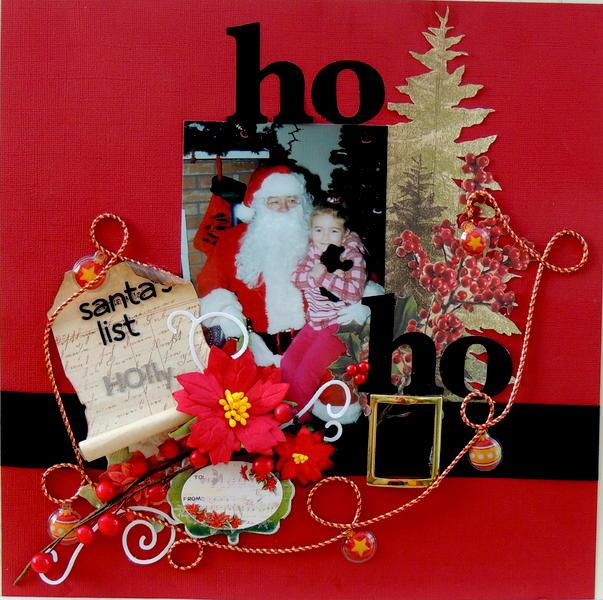 Santa's list.. *Scrap That Dec Kit*