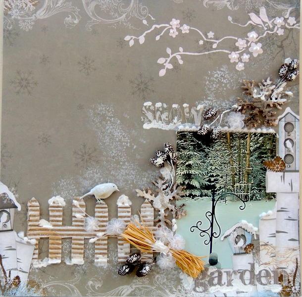 Snow Garden *Scrap That Jan Kit*