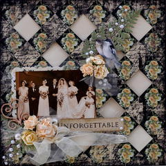 Unforgettable *ScrapThat Feb kit*