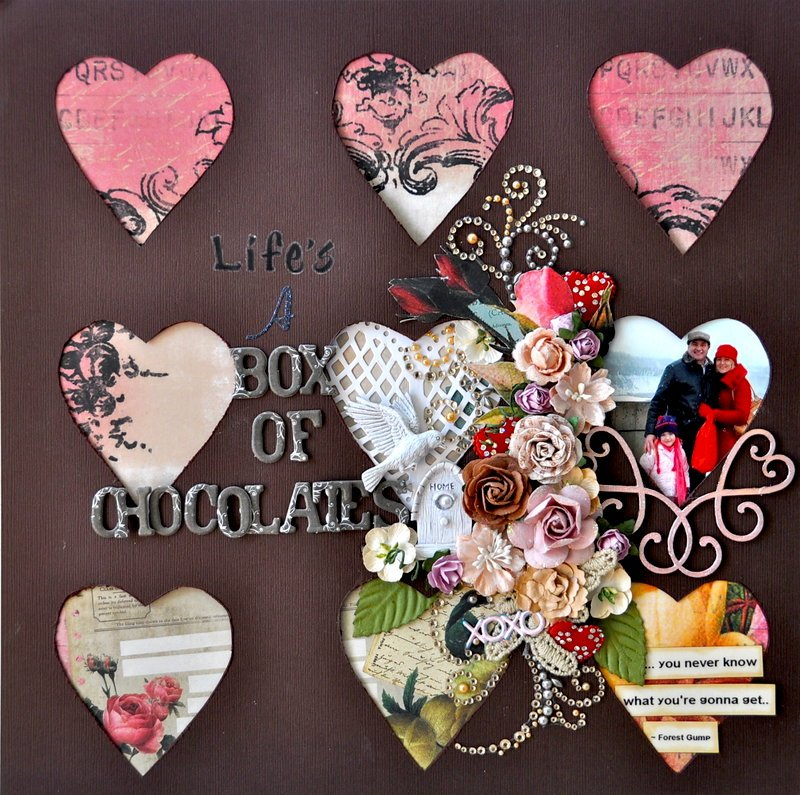 Life's a Box of Chocolates *Scrap That Feb Kit*