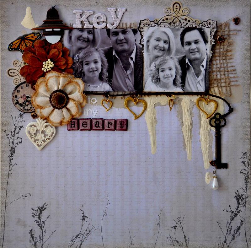 Key to my Heart *Scrap That April Kit*
