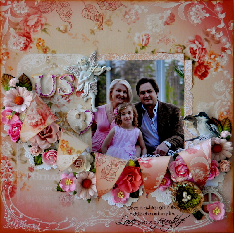 The Three of Us *Scrap That March Kit 2013*