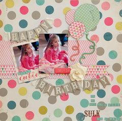 Happy Birthday *MCS Main Kit  March '14*