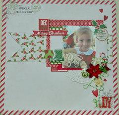 Joy *My Creative Scrapbook Main Kit Dec 2013*
