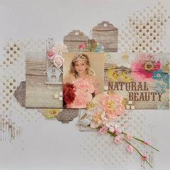 Natural Beauty Mixed Media