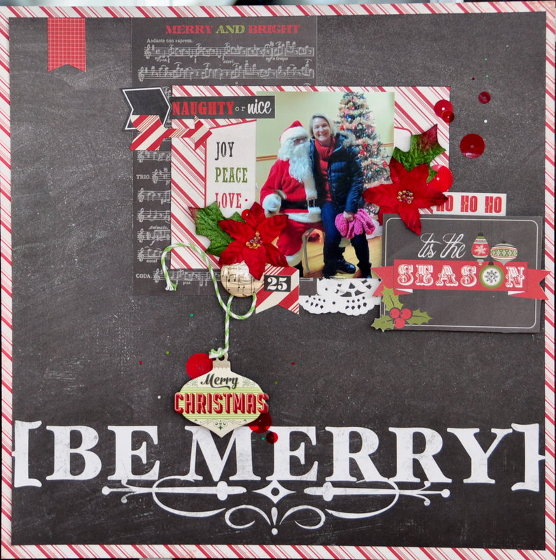 Be Merry *MCS Main Kit Dec 2013*