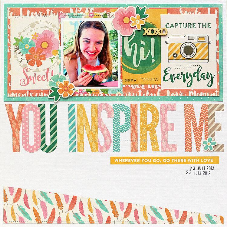 You Inspire Me - Jillibean Soup