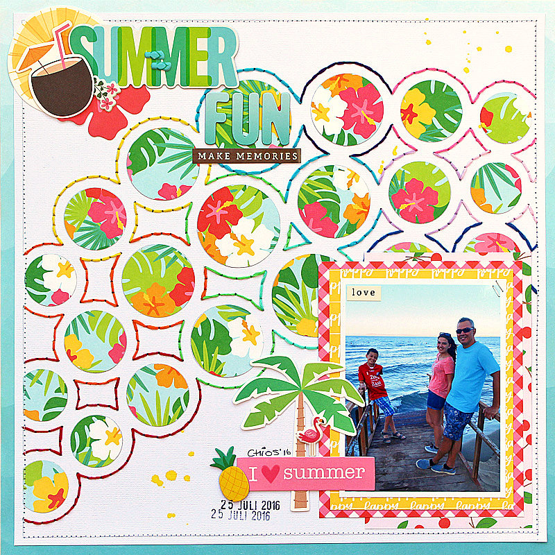 Summer Fun - Pebbles
