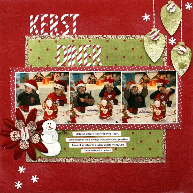 Christmas Diner - Crop Addict KIT