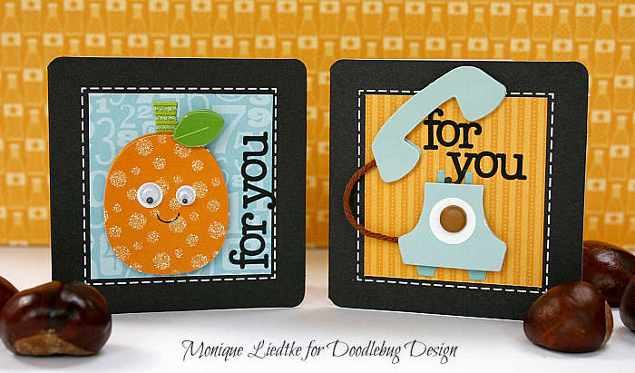 Doodlebug Mini Cards