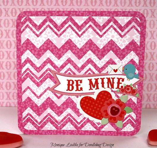 Valentine's card - Doodlebug