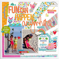 Fun can happen ... - Doodlebug Design