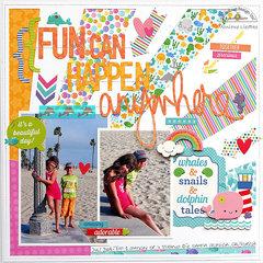 Fun can happen ... - Doodlebug Design