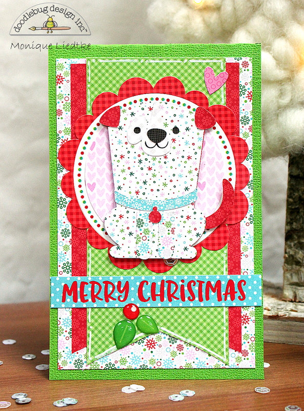 Doodlebug Christmas Cards